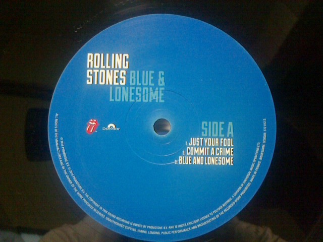 Blue & Lonesome / The Rolling Stones_c0104445_2135571.jpg
