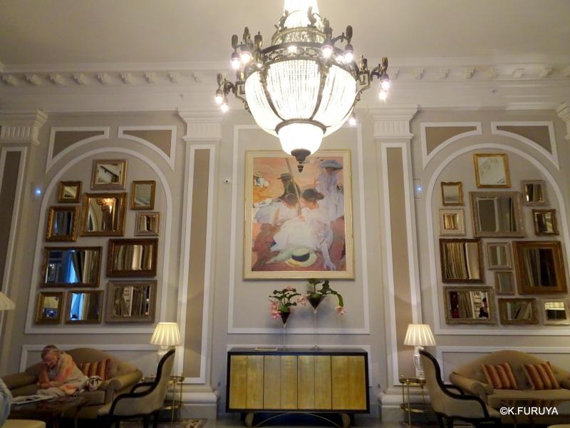 """""""ホテル・マリア・クリスティーナ""""  サンセバスティアン_a0092659_13492172.jpg"""