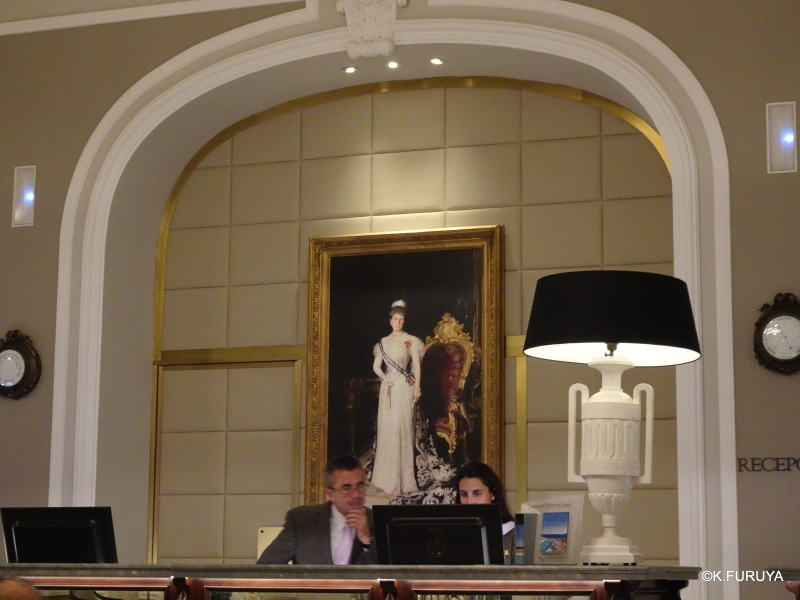 """""""ホテル・マリア・クリスティーナ""""  サンセバスティアン_a0092659_13520067.jpg"""
