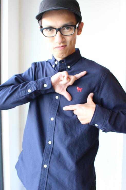 パグちゃんシャツ_f0375159_12585624.jpg