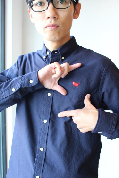 パグちゃんシャツ_f0375159_12585829.jpg