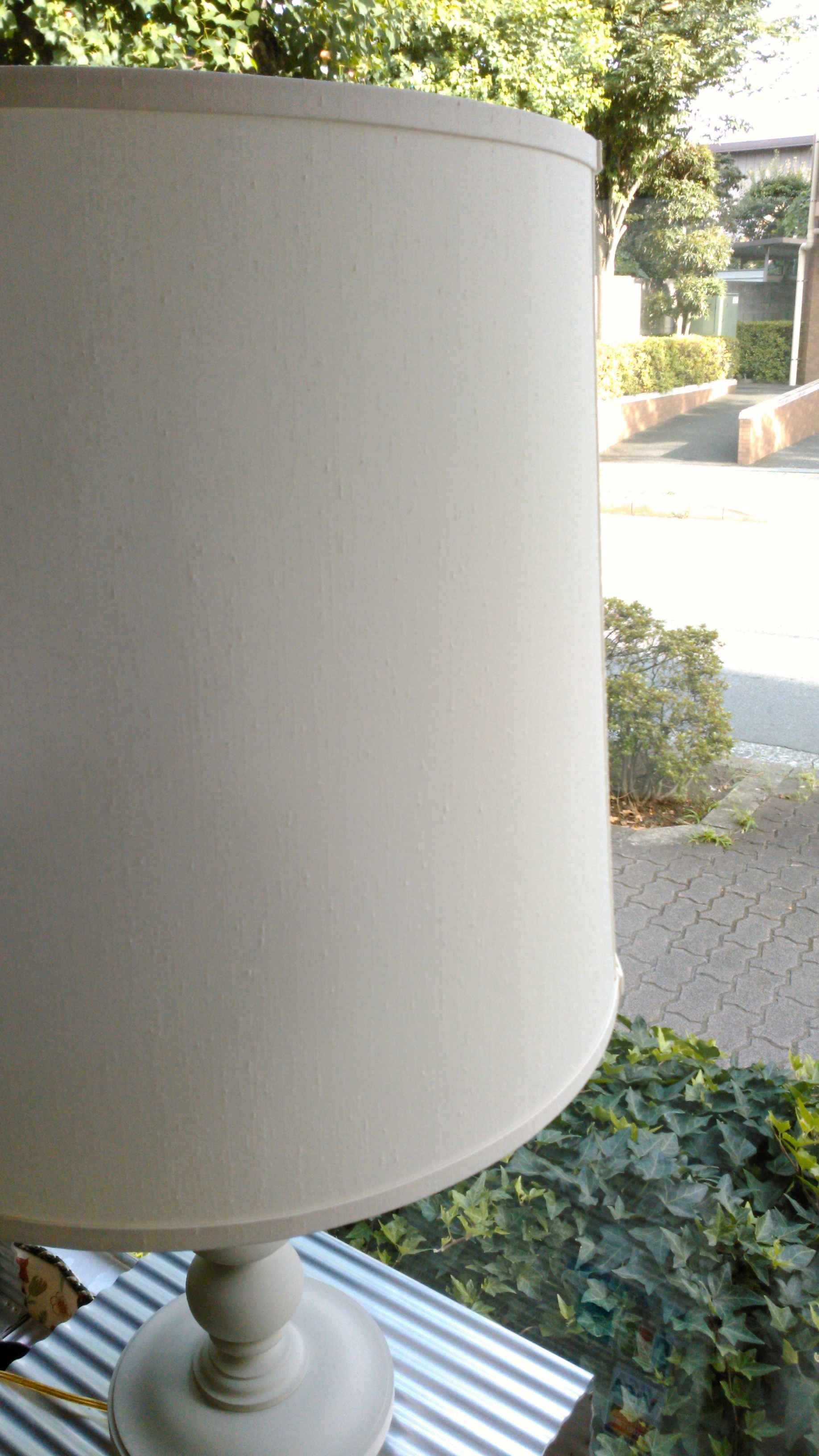 ドラム型ランプシェードの張り替え_c0157866_17511054.jpg