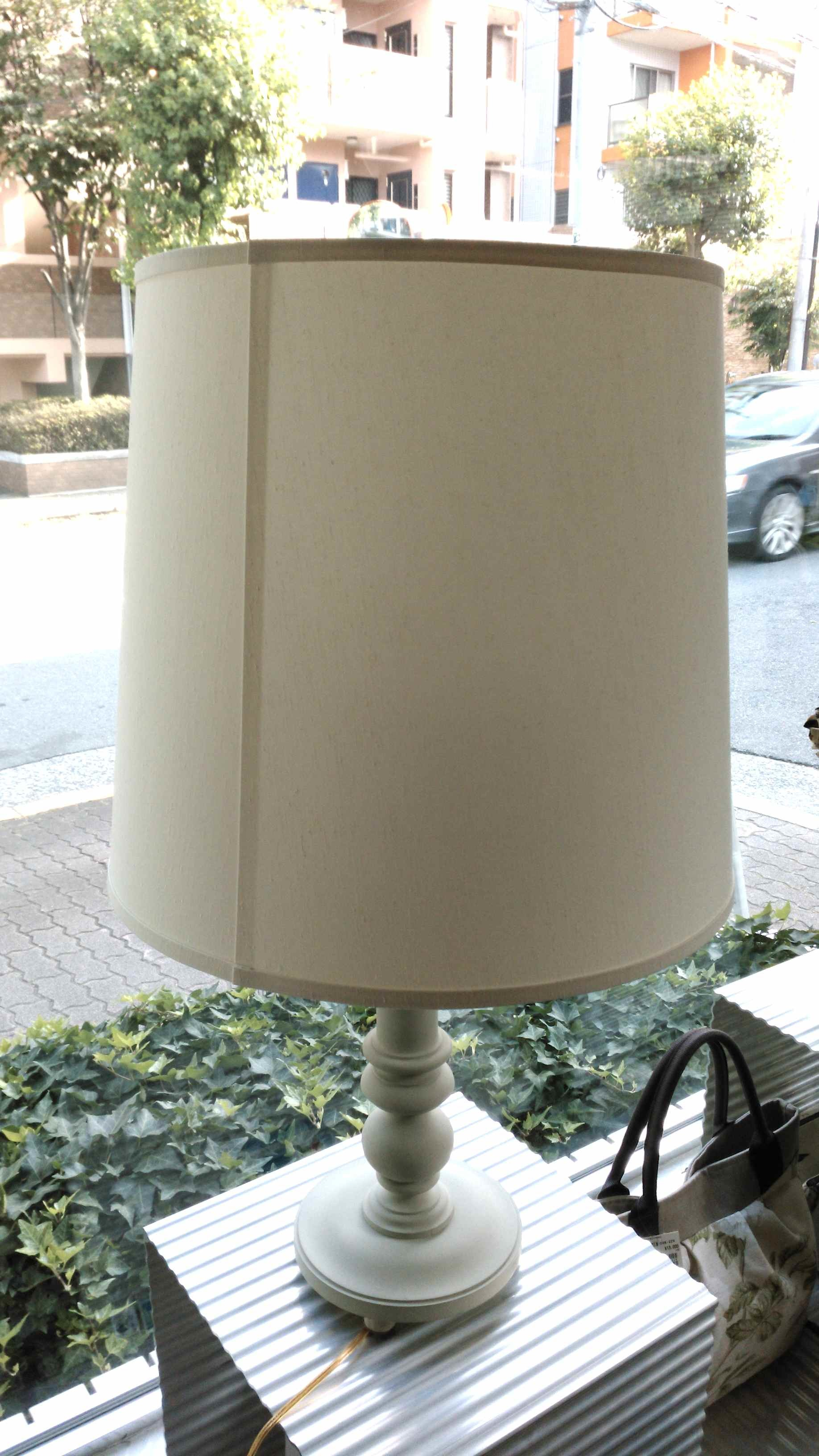 ドラム型ランプシェードの張り替え_c0157866_17520252.jpg