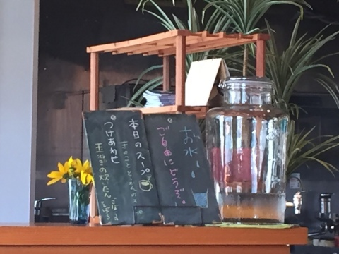 Coffee ③ マルサン  @智頭_e0115904_04492692.jpg