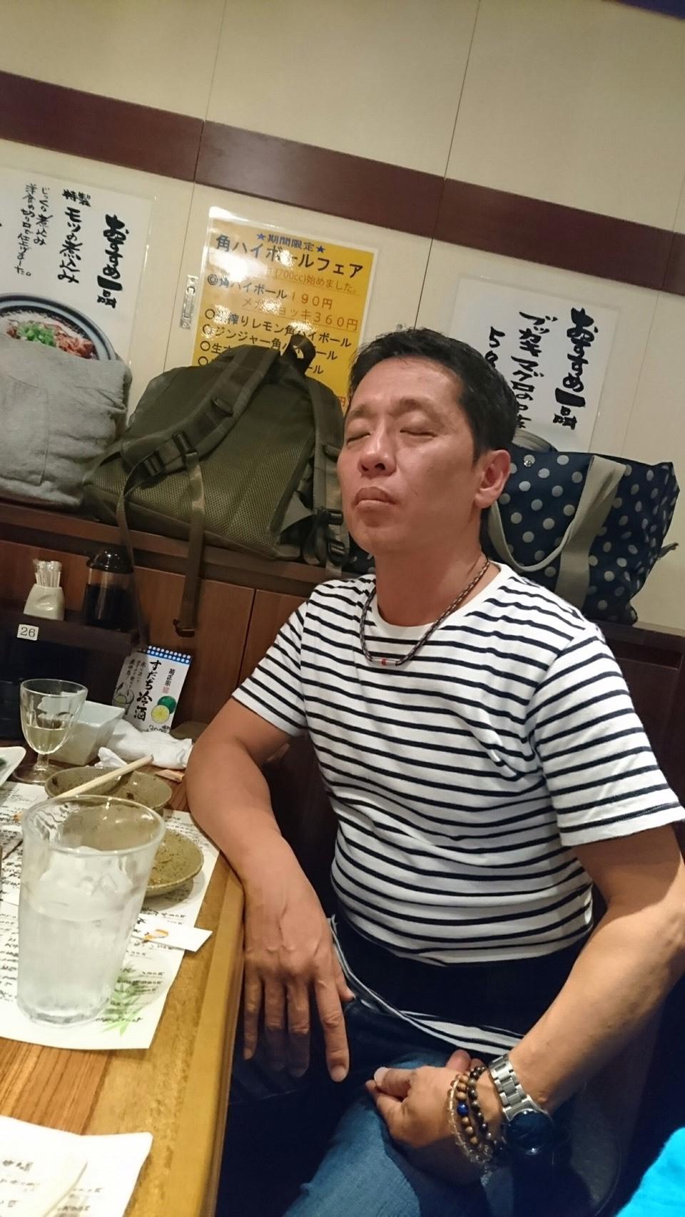 お疲れの大森ヒロシさん_a0163623_23273171.jpg