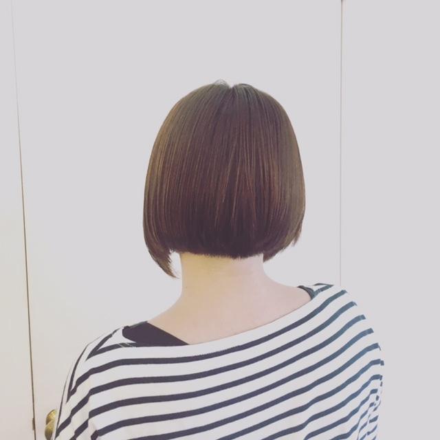縮毛矯正毛とボブと。_d0224931_17081225.jpg