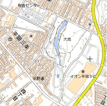 イオン札幌平岡店と謎の大池_f0078286_17052645.jpg