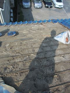 和光市の本町で、瓦屋根工事_c0223192_21091294.jpg