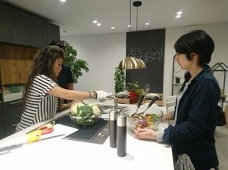 魅惑のキッチン、料理もDesignです!_d0091909_17280897.jpg