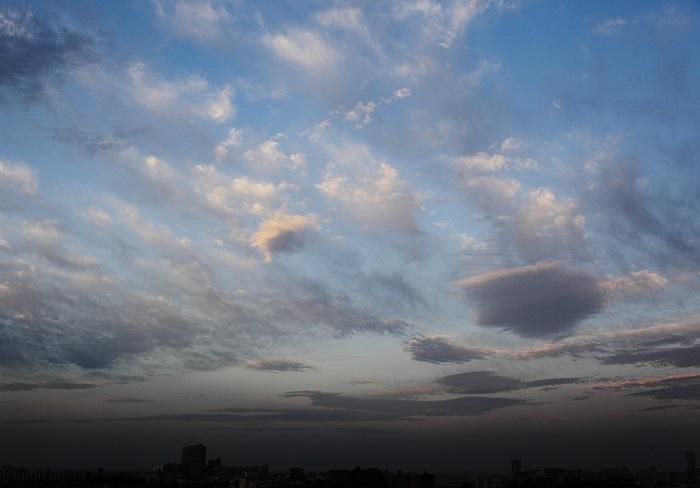 二重雲 (高積雲) : 日々の風景