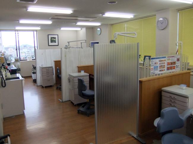 歯科の間仕切り/パーティション/歯科医院/岡山_c0225122_1194257.jpg