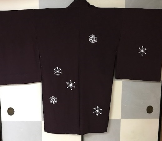 雪の結晶帯+雪の結晶バッグ+藤井絞雪の結晶羽織。_f0181251_17102517.jpg