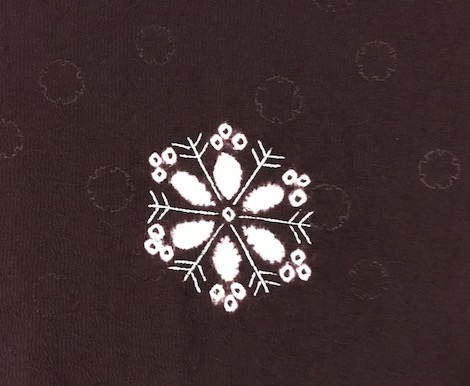 雪の結晶帯+雪の結晶バッグ+藤井絞雪の結晶羽織。_f0181251_17121617.jpg