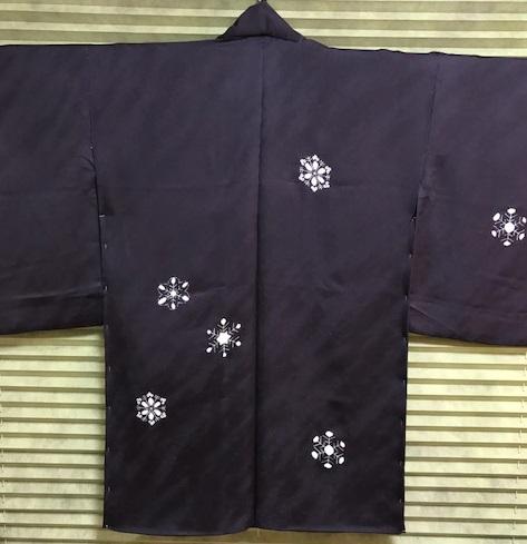 雪の結晶帯+雪の結晶バッグ+藤井絞雪の結晶羽織。_f0181251_17171357.jpg