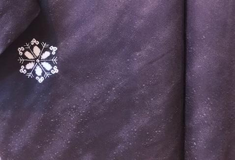 雪の結晶帯+雪の結晶バッグ+藤井絞雪の結晶羽織。_f0181251_1719158.jpg