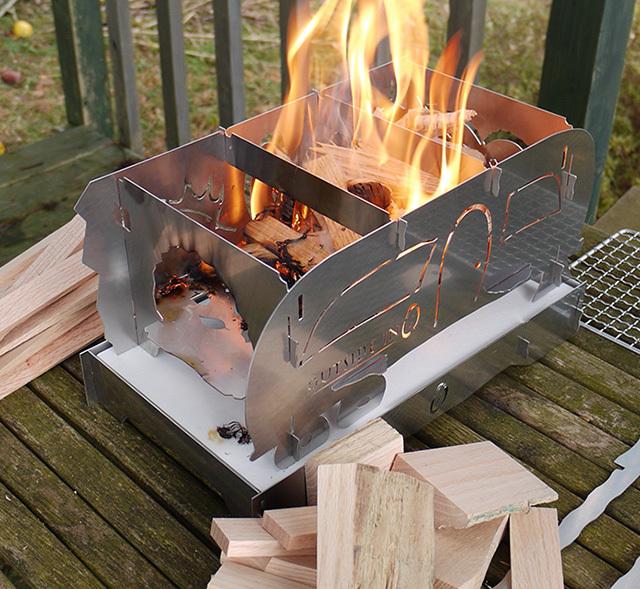 """OUTSIDE IN新商品  \""""StainlessSteel FireStove\""""発売! _c0127476_15275364.jpg"""