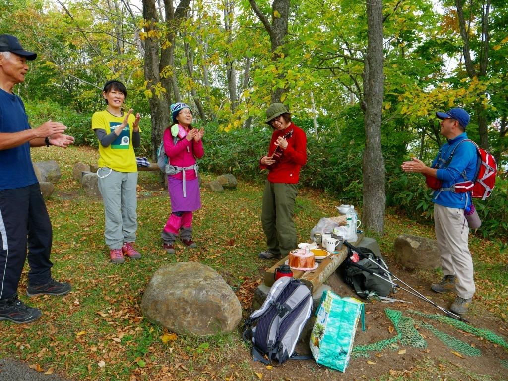 藻岩山誕生日登山、2017.10.2_f0138096_17463742.jpg
