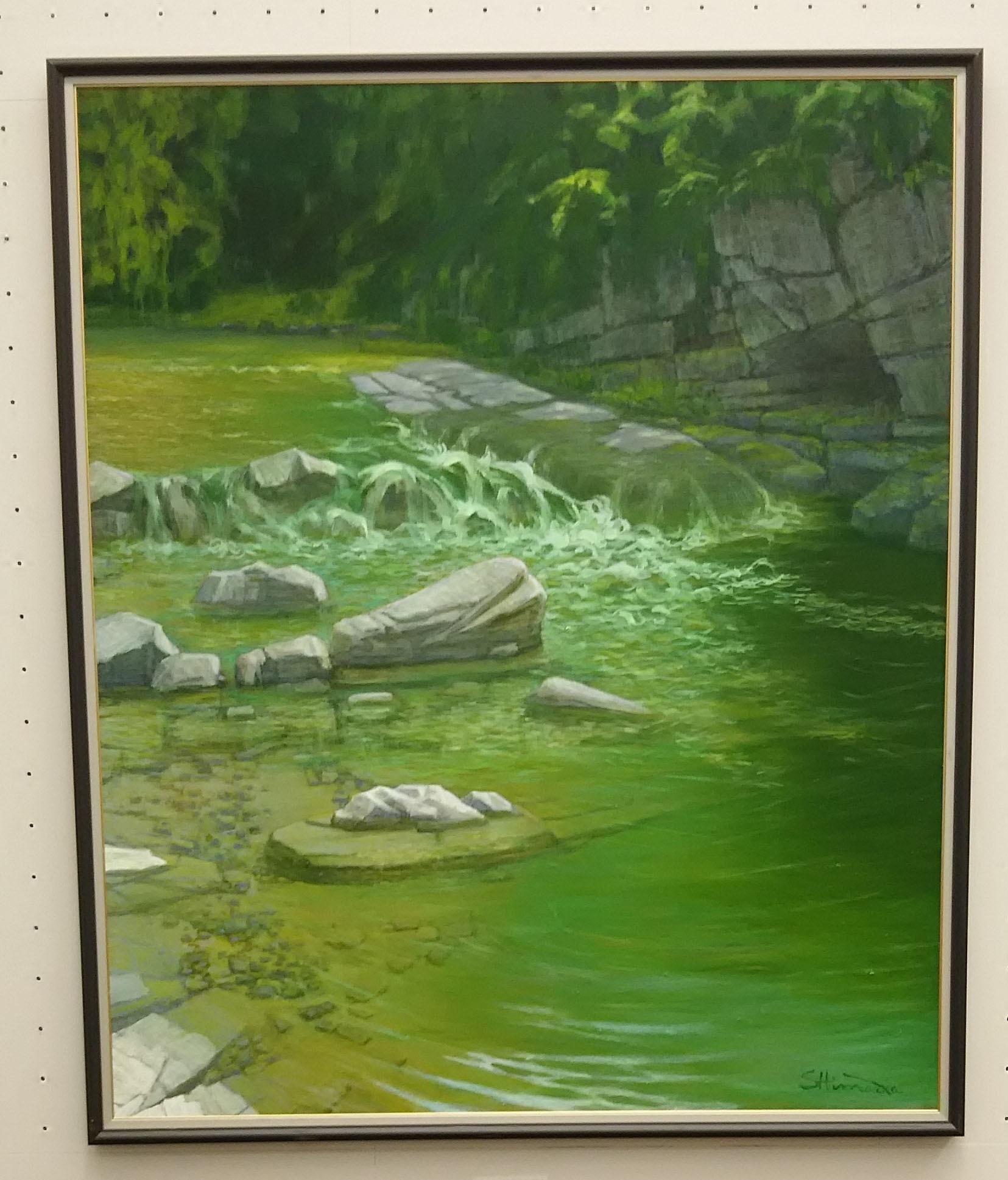 創展で「槻川緑韻」を観ました_c0216213_19385855.jpg