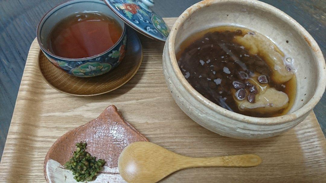 「青紫蘇の実の塩漬け」作り「柿ジャム」作りと、栗の渋皮煮の販売開始。_a0125419_06593756.jpg