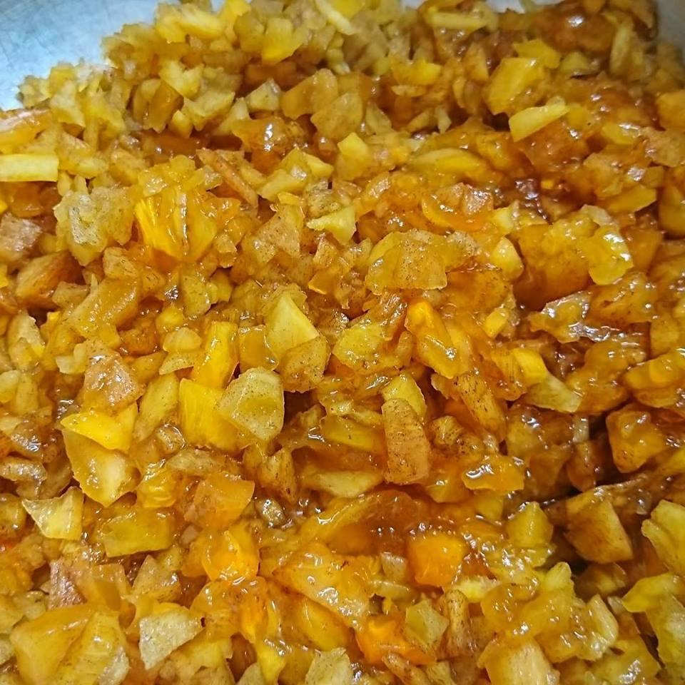 「青紫蘇の実の塩漬け」作り「柿ジャム」作りと、栗の渋皮煮の販売開始。_a0125419_07084436.jpg