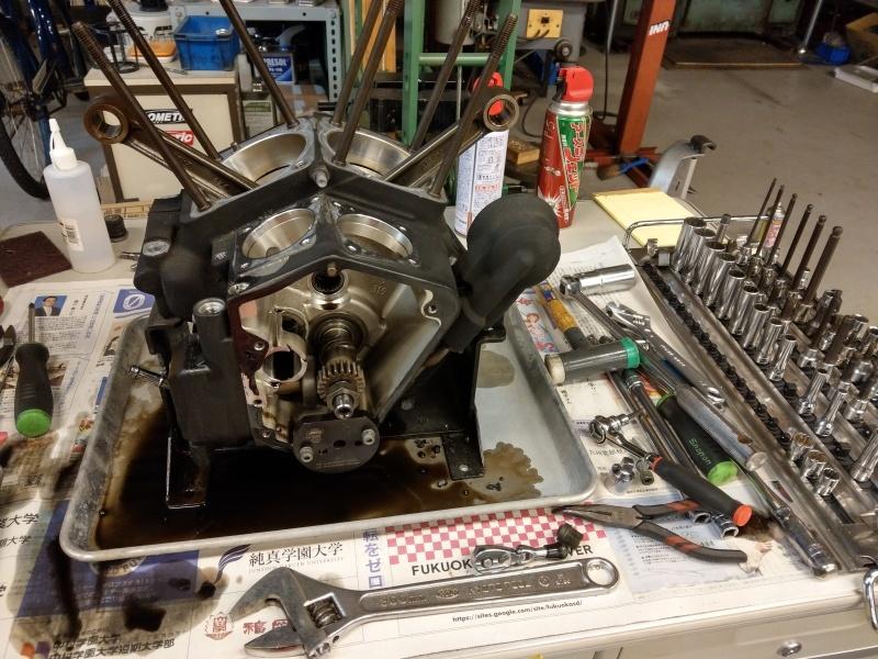 エボエンジン修理_c0374027_21552090.jpg