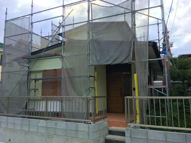 半田山 Yさんの家 屋根改修工事・水廻りのリフォーム ★塗装工事、大工工事_d0205883_16091252.jpg