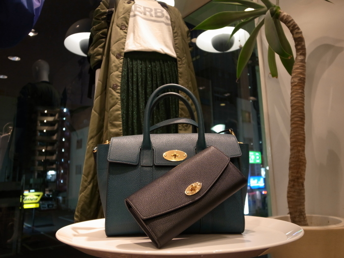 MULBERRY ENGLAND SMALL BAYSWATER×DERLEY WALLET_f0111683_19343734.jpg
