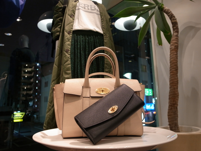 MULBERRY ENGLAND SMALL BAYSWATER×DERLEY WALLET_f0111683_19352685.jpg