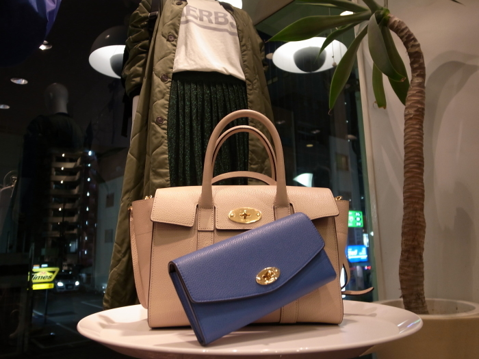 MULBERRY ENGLAND SMALL BAYSWATER×DERLEY WALLET_f0111683_19353304.jpg