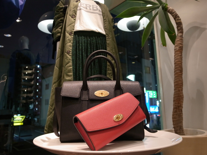 MULBERRY ENGLAND SMALL BAYSWATER×DERLEY WALLET_f0111683_19354047.jpg