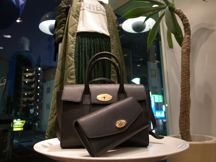 MULBERRY ENGLAND SMALL BAYSWATER×DERLEY WALLET_f0111683_19354662.jpg
