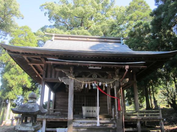 田主丸の阿蘇神社は橘の紋_a0237545_14103591.jpg