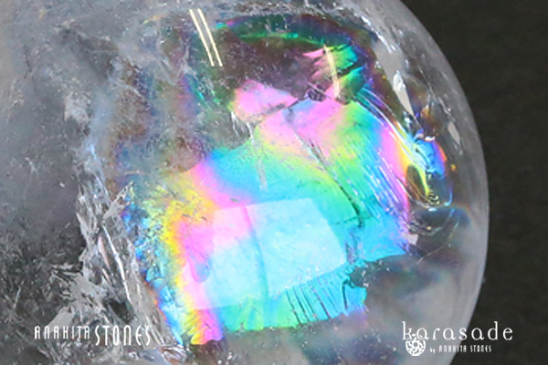 水晶丸玉(虹入り)(ブラジル産)_d0303974_16430173.jpg