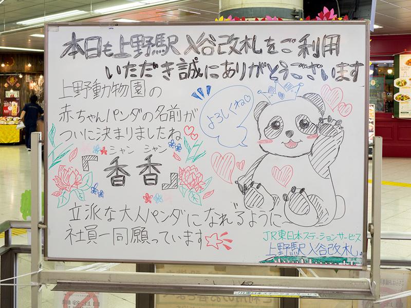 上野駅のパンダ_a0003650_20273436.jpg