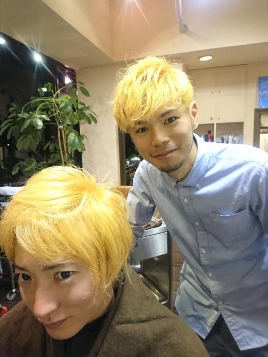 金髪×金髪!!_a0272765_18014340.jpg