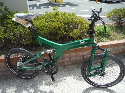 ルイガノJEDI(折り畳み自転車)が入荷しました!_b0332867_20453497.jpg