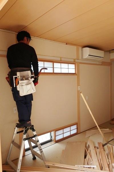 横浜でW様邸リフォーム工事が始まりました_c0130172_17084275.jpg