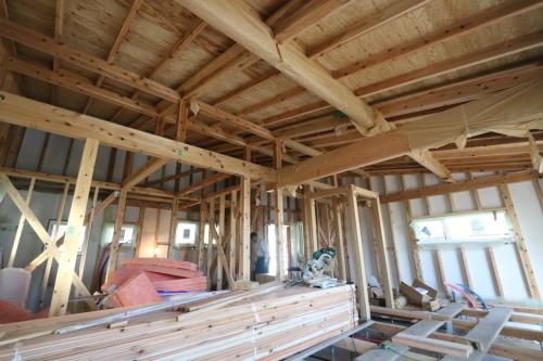 Q1住宅三種別棟:軸、小屋_e0054299_11132096.jpg