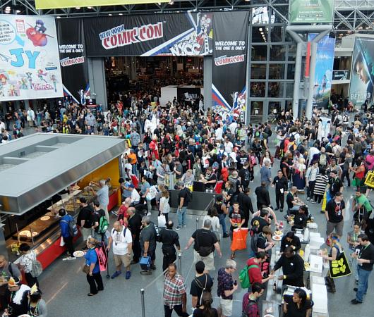 初日の朝から大盛況のNew York Comic Con 2017_b0007805_1592312.jpg