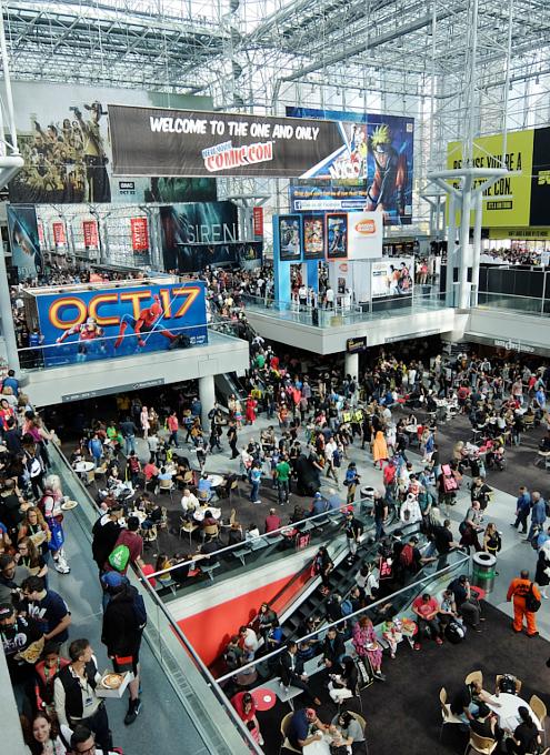 初日の朝から大盛況のNew York Comic Con 2017_b0007805_295413.jpg