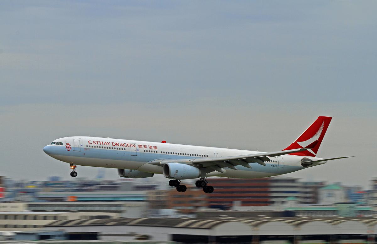 キャセイドラゴン航空。_b0044115_8295340.jpg