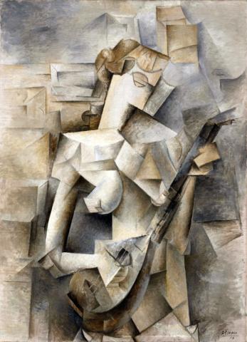 第42回《〜これまで誰も教えてくれなかった〜『絵画鑑賞入門項講座』》 20世紀最大の巨匠 ピカソ(その2) ピカソとキュビスム_e0356356_11560962.jpg