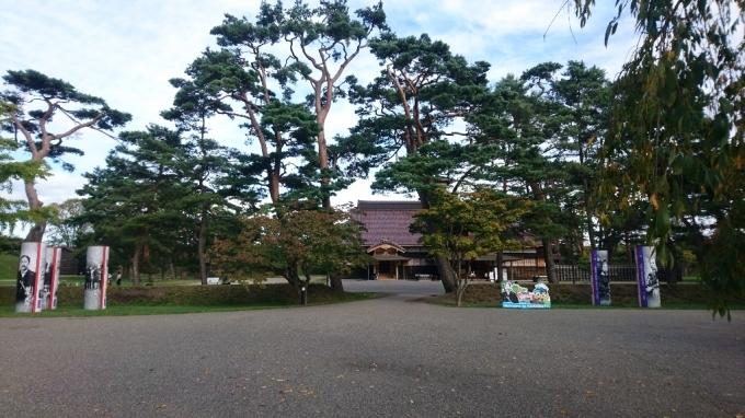 2017年10月8日(日)今朝の函館の天気と気温は。五稜郭公園内の箱館奉行所売店にセラピア製品_b0106766_07080674.jpg