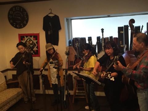 本日10月7日Bluegrass 月1回のJam会!_d0225380_00480381.jpg