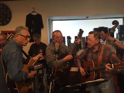 本日10月7日Bluegrass 月1回のJam会!_d0225380_01004155.jpg