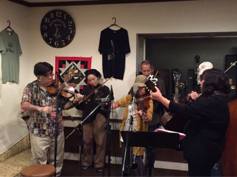 本日10月7日Bluegrass 月1回のJam会!_d0225380_10000841.jpg