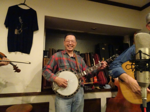 本日10月7日Bluegrass 月1回のJam会!_d0225380_10023241.jpg