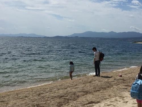 たらい舟に乗ってみよう! in近江舞子内湖_e0008880_10282262.jpg