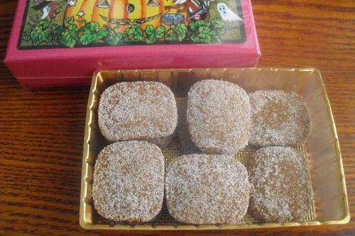 西光亭 『チョコアーモンドクッキー』_a0326295_18214867.jpg