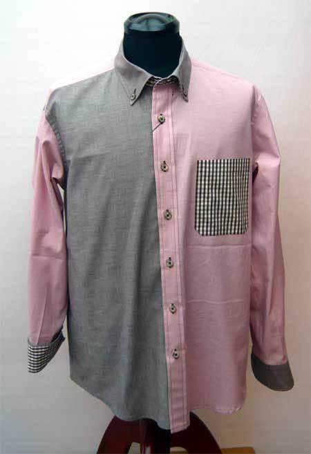 パッチワークシャツ ピンク_a0110103_10245538.jpg